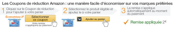 faire des economies avec les coupons de reduction amazon