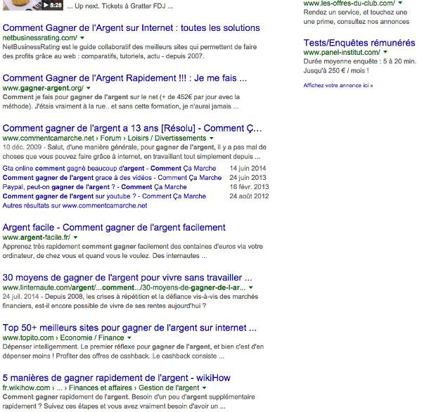 screenshot gagnerdelargent page 1 down