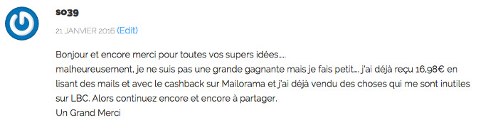commentaire sonia 700