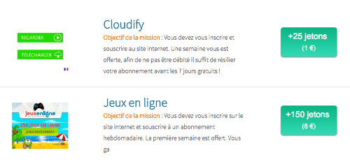 Cashback sur Click-it