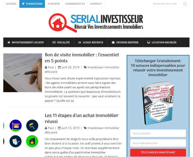 blog serial investisseur immobilier
