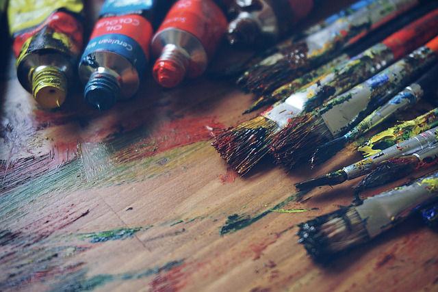 créer ses cadeaux de Noel peinture